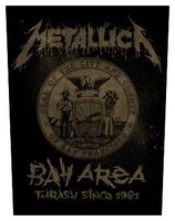 Metallica back patch 'Bay Area'