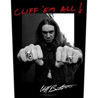 Metallica back patch 'Cliff 'em all'