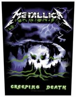 Metallica back patch 'Creeping Death'
