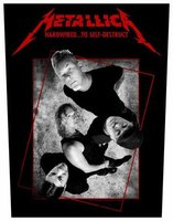 Metallica back patch 'Hardwired Concrete'
