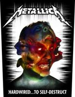 Metallica back patch 'Hardwired To Self-Destruct'