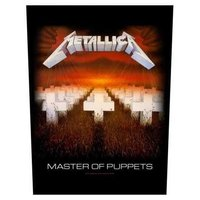 Metallica back patch 'Master of Puppets'