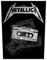Metallica back patch 'No Life 'Til Leather'