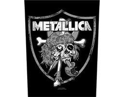 Metallica back patch 'Raiders Skull'