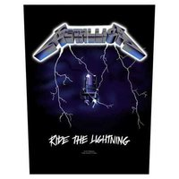 Metallica back patch 'Ride The Lightning'