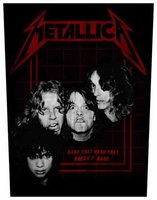 Metallica back patch - Bang That Head