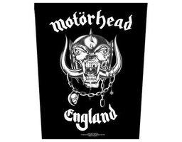 Motorhead back patch 'England'