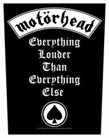 Motorhead back patch 'Everything Louder'