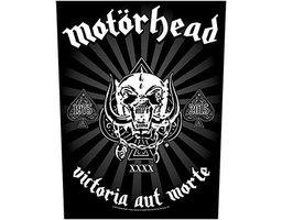 Motorhead back patch 'Victoria Aut Morte 1975-2015'