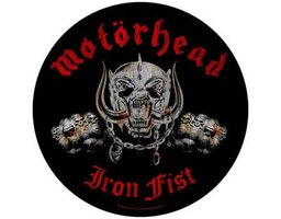 Motorhead back patch - Iron Fist