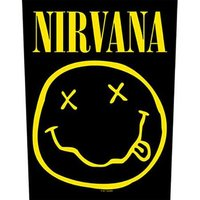 Nirvana back patch - Smiley