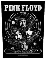 Pink Floyd back patch - Cosmic Faces