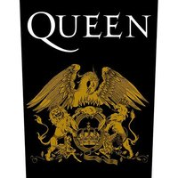 Queen back patch 'Crest'