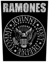 Ramones back patch 'Classic Seal'