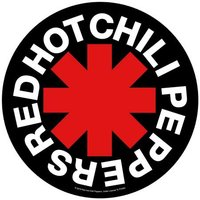 Red Hot Chili Peppers back patch 'Asterisk'