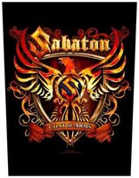 Sabaton back patch 'Coat of Arms'