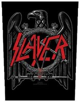 Slayer back patch 'Black Eagle'