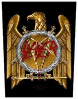 Slayer back patch 'Golden Eagle'