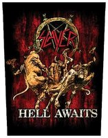 Slayer back patch 'Hell Awaits'
