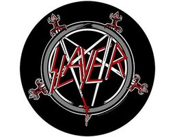 Slayer back patch 'Pentagram'