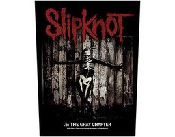 Slipknot back patch '.5: The Gray Chapter'