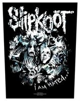 Slipknot back patch 'I am Hated'