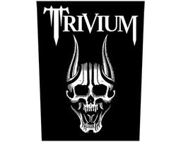 Trivium back patch 'Screaming Skull'