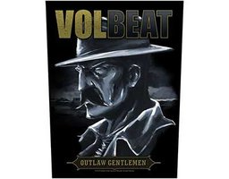 Volbeat back patch - Outlaw Gentlemen