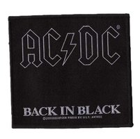 AC/DC patch 'Back in black'