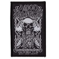 Amon Amarth patch 'Bearded Skull'