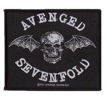 Avenged Sevenfold patch 'Death Bat'