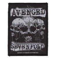 Avenged Sevenfold patch - 3 Skulls