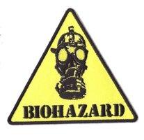 Biohazard patch (danger sign)