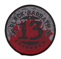 Black Sabbath patch '13'