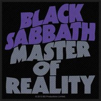 Black Sabbath patch 'Master of Reality'