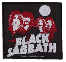 Black Sabbath patch 'Red Portraits'