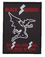 Black Sabbath patch 'We Sold Our Souls'