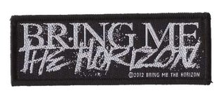 Bring Me The Horizon patch 'Horror logo'