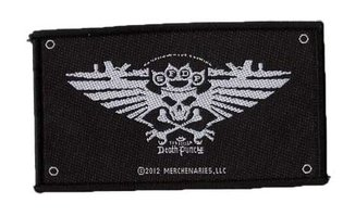 Five Finger Death Punch patch 'wings'
