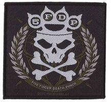 Five Finger Death Punch patch - Knuckle Crown