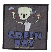 Green Day patch 'Hammers'