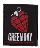 Green Day patch 'Heart Grenade'