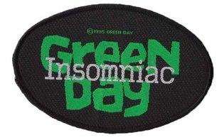 Green Day patch 'insomniac'