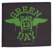Green Day patch 'Neon Wings'