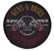 Guns N' Roses patch 'Los F'N Angeles'