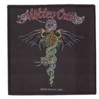 Motley Crue patch - Dr Feelgood