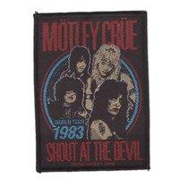 Motley Crue patch - Shout At The Devil