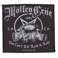 Motley Crue patch - You Cant Kill Rock N Roll