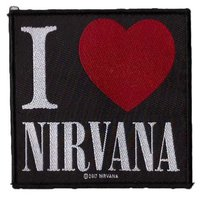 Nirvana patch - I Love Nirvana