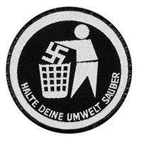 patch 'Halte Deine Umwelt Sauber'